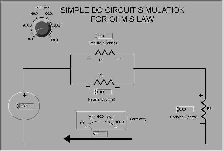 Overview of DC Parallel Circuit Simulation- Freeware, shareware