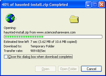 haunted house echo voice changer software download status window
